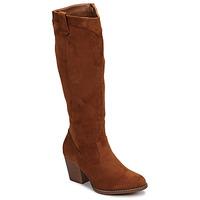 Schuhe Damen Klassische Stiefel Moony Mood NOEMA Camel