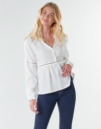Kleidung Damen Tops / Blusen Betty London NAUSSE Naturfarben