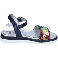 Schuhe Mädchen Sandalen / Sandaletten Joli BM757 blau