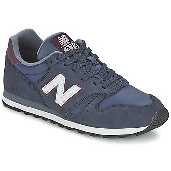 Schuhe Sneaker Low New Balance ML373 Marine / Rot