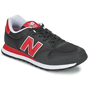 Schuhe Sneaker Low New Balance GM500 Schwarz / Rot