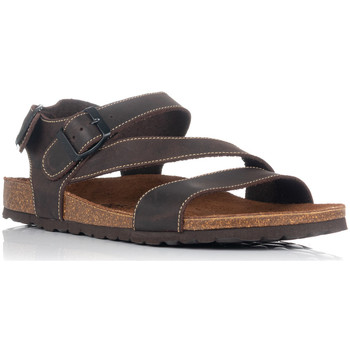 Schuhe Herren Sandalen / Sandaletten Interbios 9557 Braun