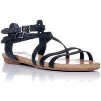 Schuhe Damen Sandalen / Sandaletten Porronet 2603 Schwarz
