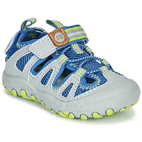 Schuhe Kinder Sportliche Sandalen Gioseppo MEXICALI Grau / Blau