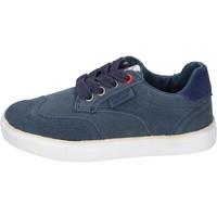 Schuhe Jungen Sneaker Beverly Hills Polo Club sneakers wildleder blau