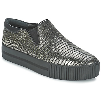 Schuhe Damen Slip on Ash KARMA Schwarz