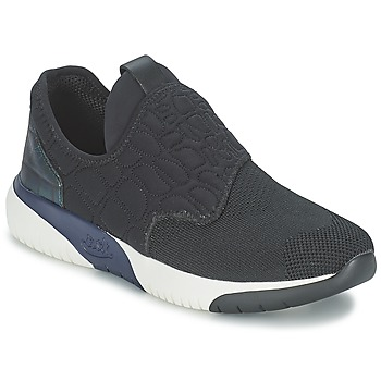 Schuhe Damen Sneaker Low Ash SODA Schwarz / Blau