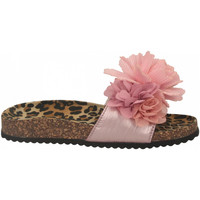 Schuhe Damen Pantoffel Colors of California BIO MAXI FLOWER pink