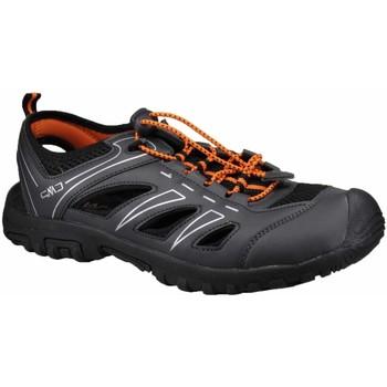Schuhe Herren Wanderschuhe Cmp F.lli Campagnolo Offene -neonorange 30Q9647-U901 schwarz