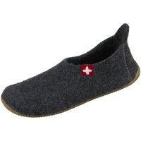 Schuhe Herren Hausschuhe Kitzbuehel 2448-600 anthrazit 2448-600 grau