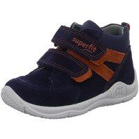 Schuhe Jungen Babyschuhe Superfit Klettstiefel Stiefelette 1-009423-8000 blau