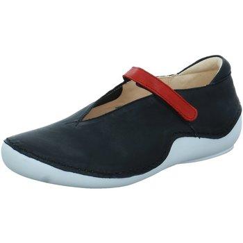 Schuhe Damen Slip on Think Slipper Kapsl Ballerina 0-686065-0900 schwarz