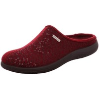 Schuhe Damen Hausschuhe Rohde 6550-48 WEINROT 6550 rot