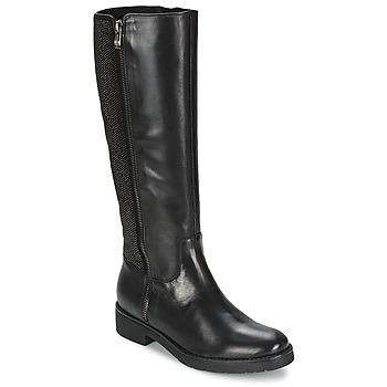 Schuhe Damen Klassische Stiefel Tosca Blu ABELLINUM Schwarz