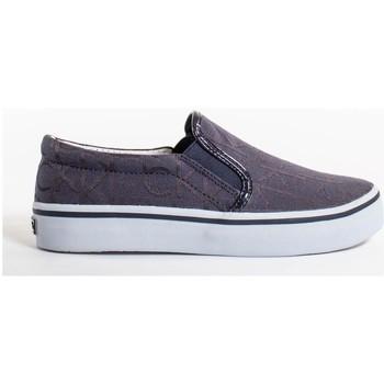 Schuhe Damen Sneaker Low Calvin Klein Jeans presley logo Blau