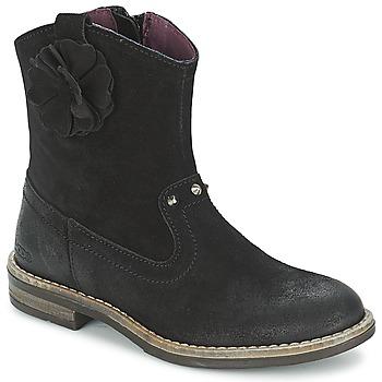Schuhe Mädchen Boots Mod'8 NOLA Schwarz