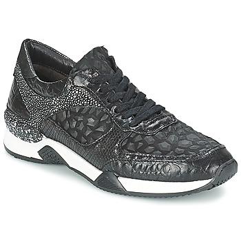 Schuhe Damen Sneaker Low Mjus KRUPA Schwarz