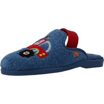 Schuhe Jungen Hausschuhe Vulladi 6110 052 Blau