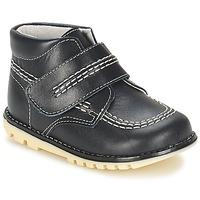 Schuhe Jungen Boots Citrouille et Compagnie MELIN Marine
