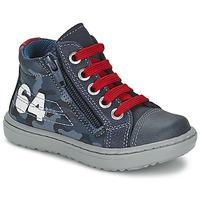 Schuhe Jungen Sneaker High Citrouille et Compagnie MINAI Blau