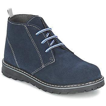 Schuhe Jungen Boots Citrouille et Compagnie LEQUIN Blau