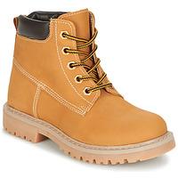 Schuhe Kinder Boots Citrouille et Compagnie SITELLE Beige