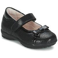 Schuhe Mädchen Ballerinas Citrouille et Compagnie TETRAS Schwarz