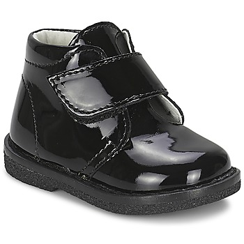 Schuhe Mädchen Boots Citrouille et Compagnie MERLE Schwarz