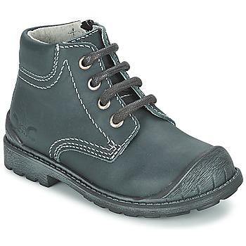 Schuhe Jungen Boots Citrouille et Compagnie BRINDIL Marine