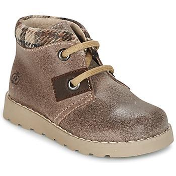Schuhe Jungen Boots Citrouille et Compagnie ZANZIB Maulwurf