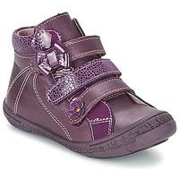 Schuhe Mädchen Boots Citrouille et Compagnie FALIE Violett