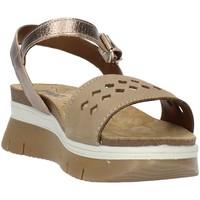Schuhe Damen Sandalen / Sandaletten Imac 509190 Beige