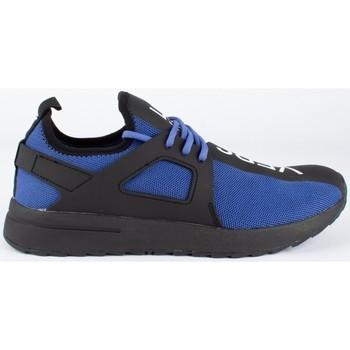 Schuhe Herren Sneaker Low Versace fondo knitted Blau