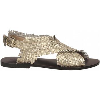 Schuhe Damen Sandalen / Sandaletten Strategia LOVE STRING platino