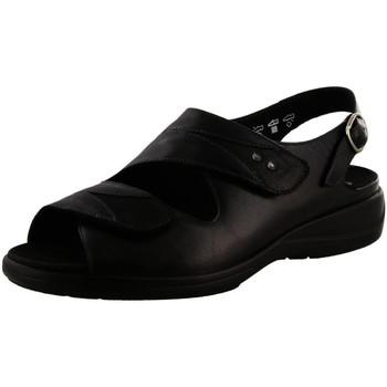 Schuhe Damen Sandalen / Sandaletten Solidus Sandaletten Lia VITELLO/GLAMOUR H 73104 00196 schwarz