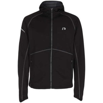 Kleidung Herren Pullover Newline Sport NOS Base Warm Up Jacket,Black grau-rot 1018422-060 Other