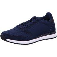 Schuhe Damen Sneaker Low Woden Schnuerschuhe Ydun Fifty WL 132 blau