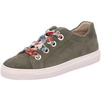 Schuhe Damen Sneaker Low Sioux Schnuerschuhe Purvesia702 63495 - oliv