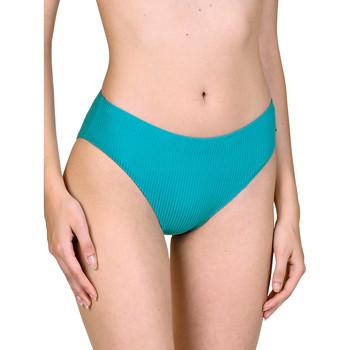 Kleidung Damen Bikini Ober- und Unterteile Lisca Itala Marina  vorgeformte Badeanzug-Strümpfe Dunkelgrün