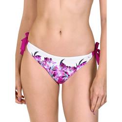 Kleidung Damen Bikini Ober- und Unterteile Lisca Egina  geknotete Badeanzug-Strümpfe Granat