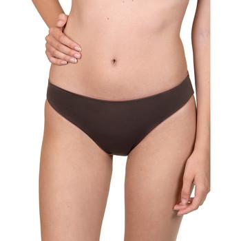 Kleidung Damen Bikini Ober- und Unterteile Lisca Bas de maillot de bain réversible écologique Kea  Cheek Violett/oranget