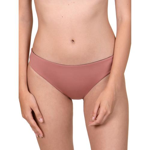 Lisca Kea Cheek ökologische reversible Badeanzug-Hosen Violett/oranget - Kleidung Bikini Ober- und Unterteile Damen 2396 vMlM7
