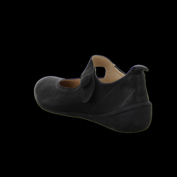 Think Slipper CUGAL 86844-00 schwarz - Schuhe Ballerinas Damen 15995