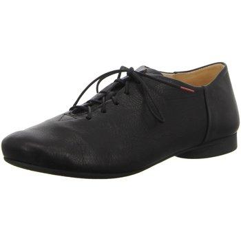 Schuhe Damen Richelieu Think Schnuerschuhe 3-83270-00 schwarz
