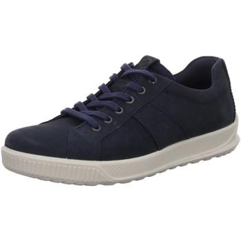 Schuhe Herren Sneaker Low Ecco Schnuerschuhe  BYWAY 501584/02058 blau