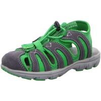 Schuhe Mädchen Wanderschuhe Superfit Trekkingsandalen STONE GREEN 2-00168-07 grau