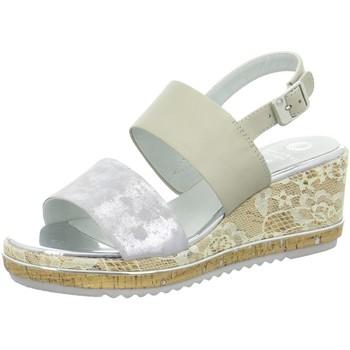 Schuhe Damen Sandalen / Sandaletten Be Natural Sandaletten GREY 88 28302 28 204 grau