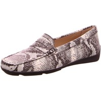 Schuhe Damen Slipper Wirth Slipper ALBANY 35008 01 PRETO/CREAM grau