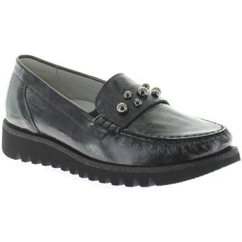 Schuhe Damen Slipper Waldläufer Komfort Habea 926507,143,052 grau