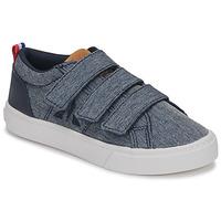 Schuhe Kinder Sneaker Low Le Coq Sportif VERDON INF Blau
